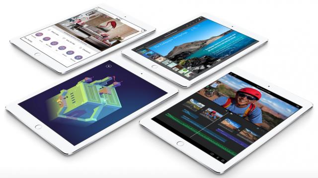 Apps shown on Apple's iPad Air 2
