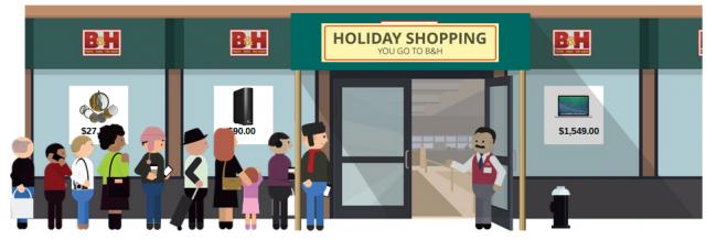 B&H holiday shopping