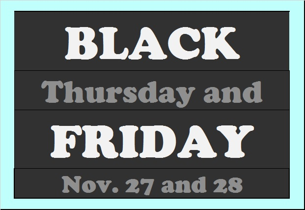Black Friday sign (by Erika Rawes)
