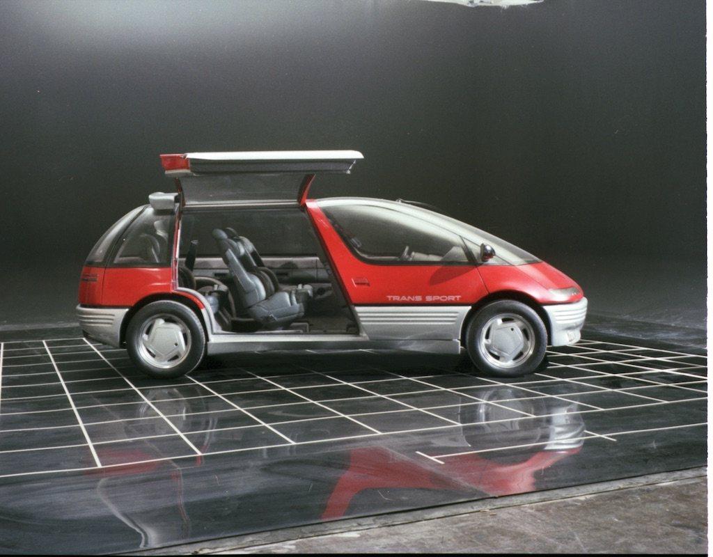 1986 Pontiac Trans Sport concept   General Motors