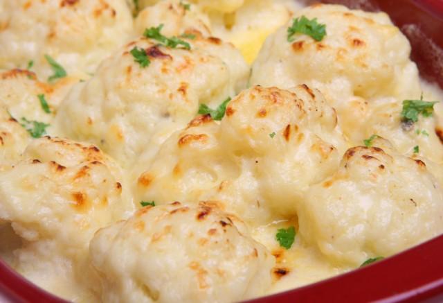 Cauliflower Cheese Casserole