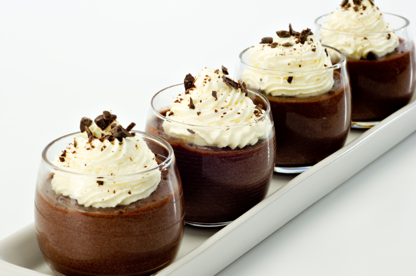 Chocolate Mousse Dessert, pudding