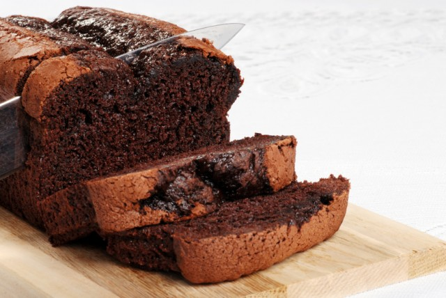 Chocolate pound cake, loaf, quick bread