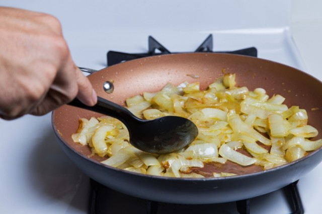 Caramelized Onions, cooking