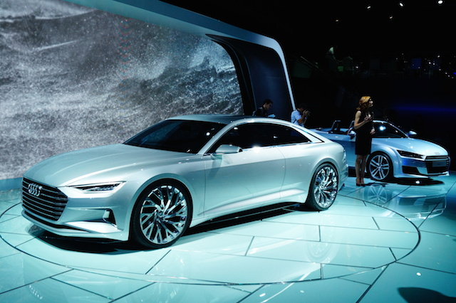 The Audi Prologue: Fantasy Coupe or New Brand Blueprint?