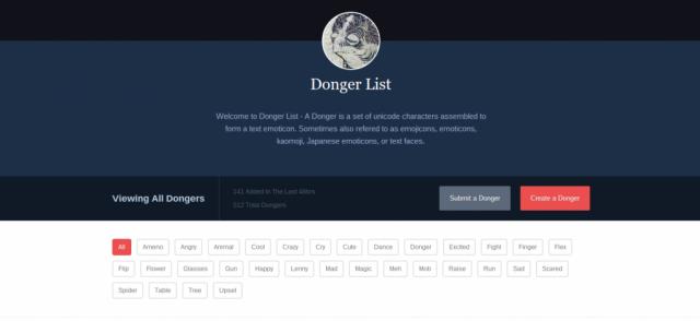 Donger List