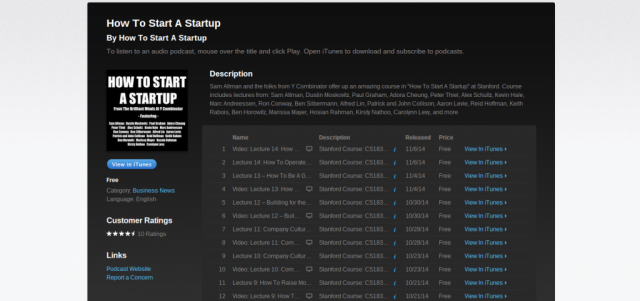 How to Start a Startup on iTunes