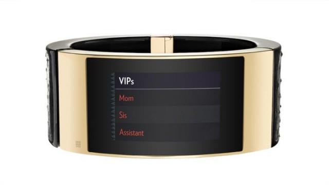 Intel MICA smart bracelet VIPs