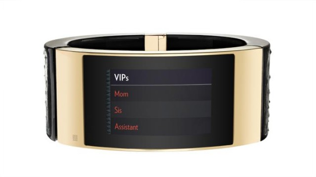 Intel MICA smart bracelet VIPs