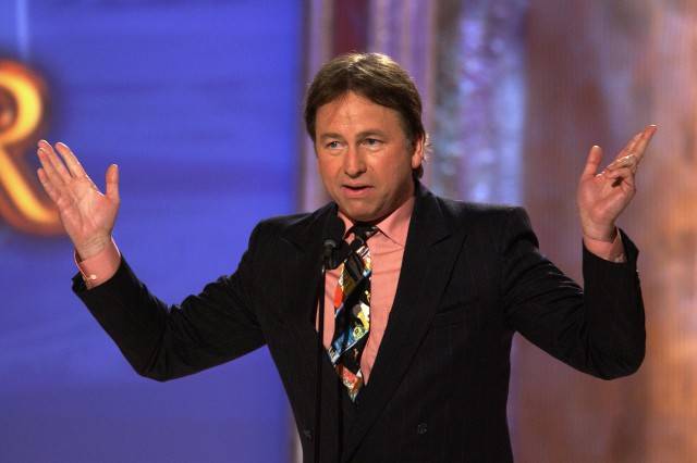Actor John Ritter talking on stage