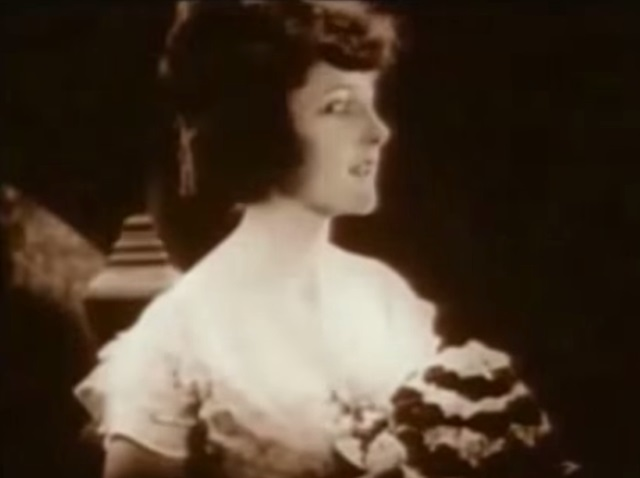 Actress Martha Mansfield in black and white