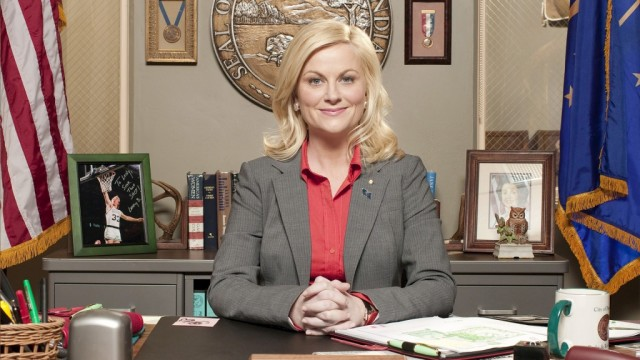 Amy Poehler in Parks and Recreation.