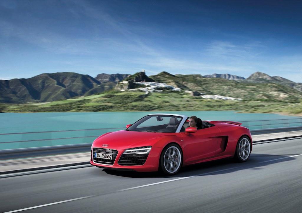 2012 Audi R8 Spyder V10