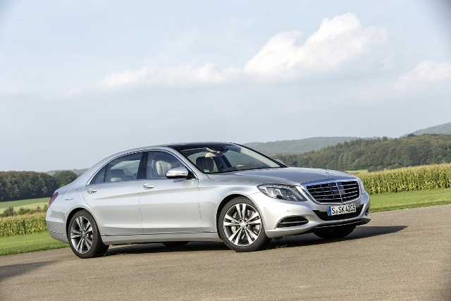 Mercedes Benz;S-Class Plug_in_Hybrid