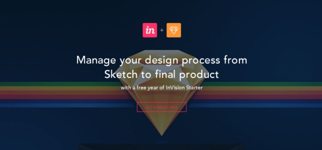Sketch + InVision