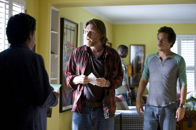 Donal Logue and Michael Raymond-James in 'Terriers'