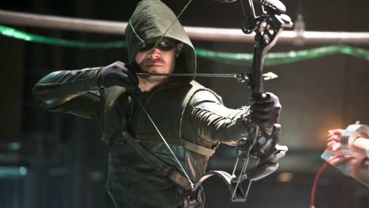 Stephen Amell as the Green Arrow