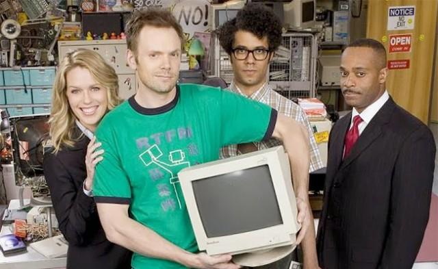 The IT Crowd cast