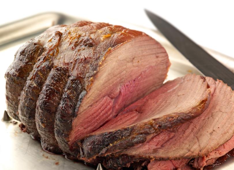 Roat Beef, carved, sliced