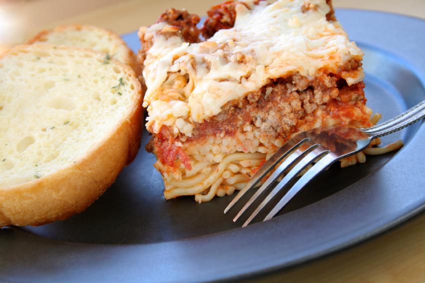 Baked Spaghetti, casserole, noodles