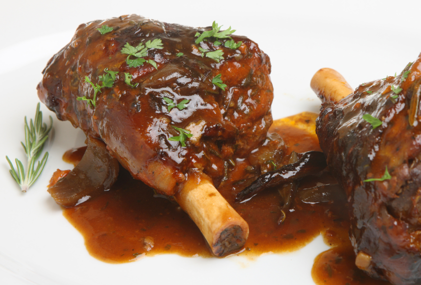 Roasted Lamb Shanks