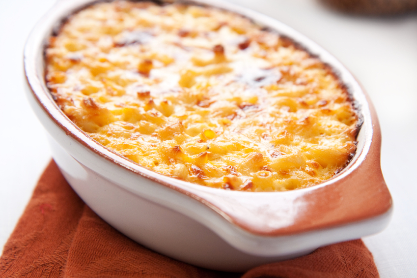 macaroni and cheese, casserole