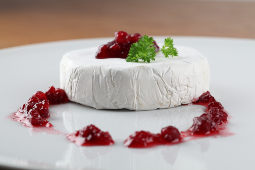cranberry and brie