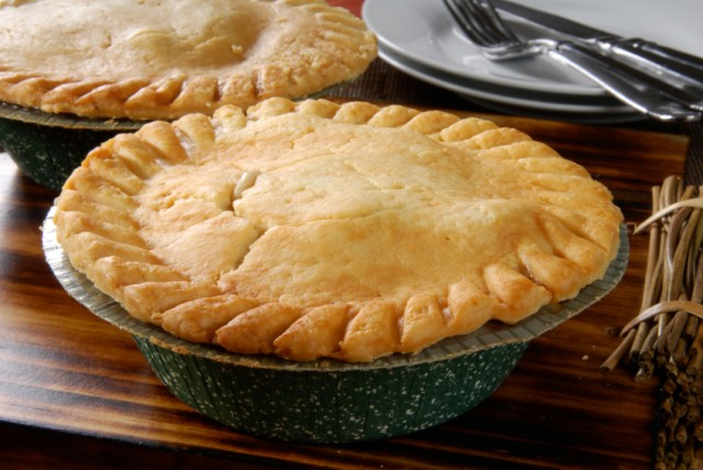 Chicken pot pie, savory pie