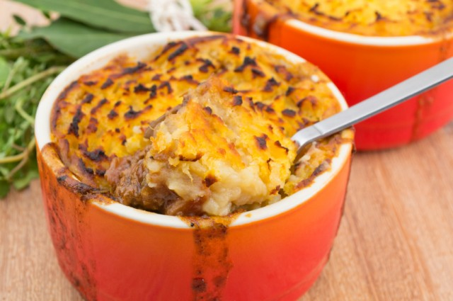 Cottage Pie, casserole, cheese