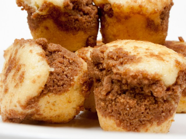 mini coffee cake bites
