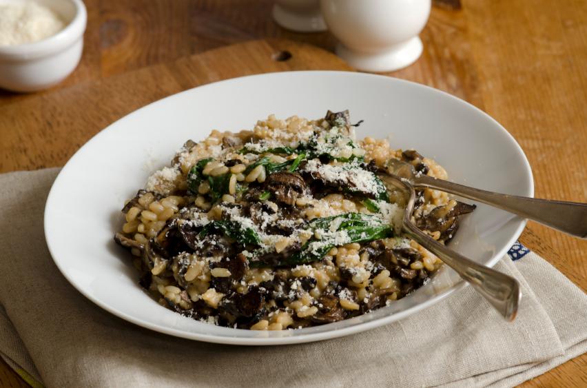 Mushroom Risotto America S Test Kitchen