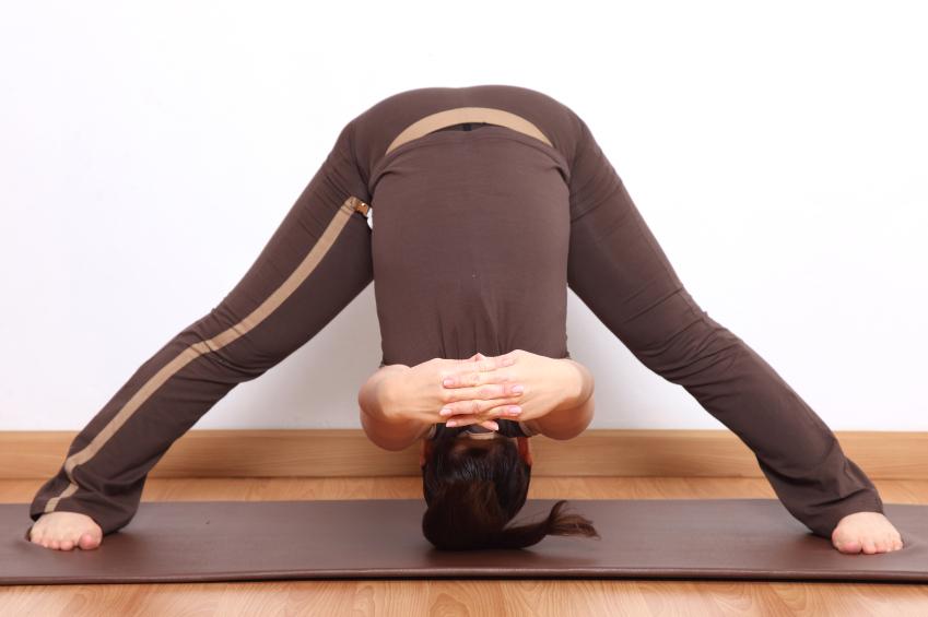 a flexible woman