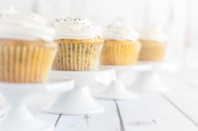 Lemon Poppyseed Cupcake Muffins