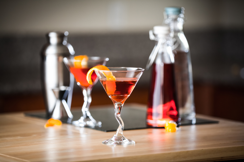 cocktail with twist