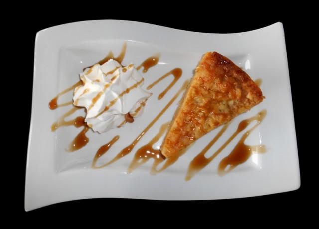 Apple Pie, Whipped Cream, Caramel