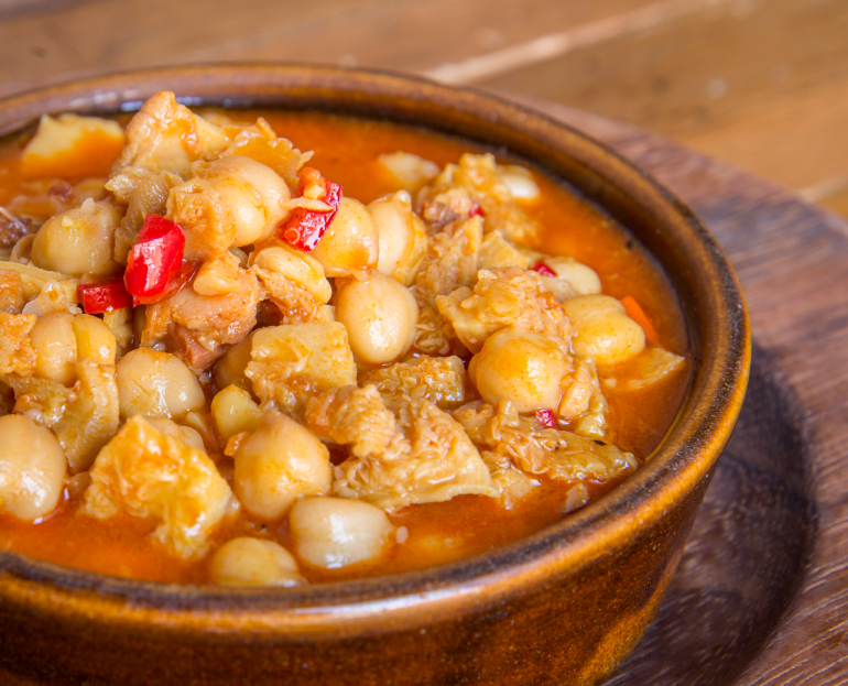 Chickpea Stew, soup
