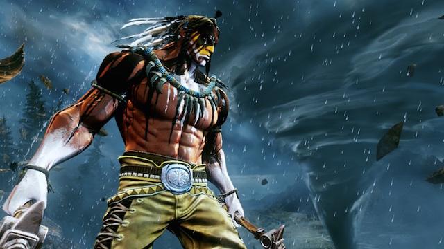 A fighter from 'Killer Instinct'