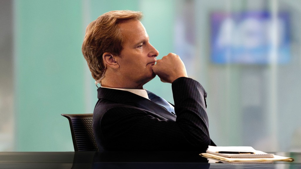 Jeff Daniels in 'The Newsroom'