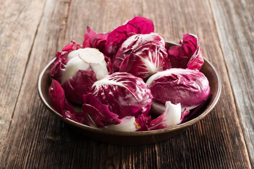 Red cabbage, radicchio