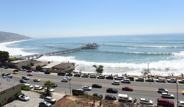 Huge Swells Generated By Hurricane Marie Reach The Southern California Coastline