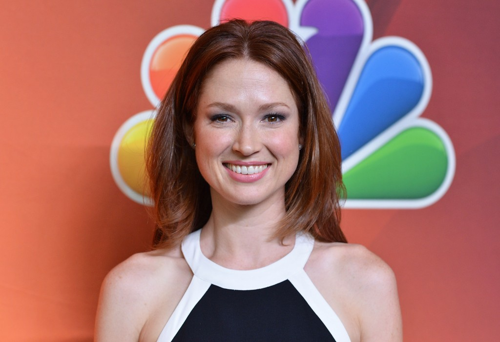 Actress Ellie Kemper from The Office and Unbreakable Kimmy Schmidt