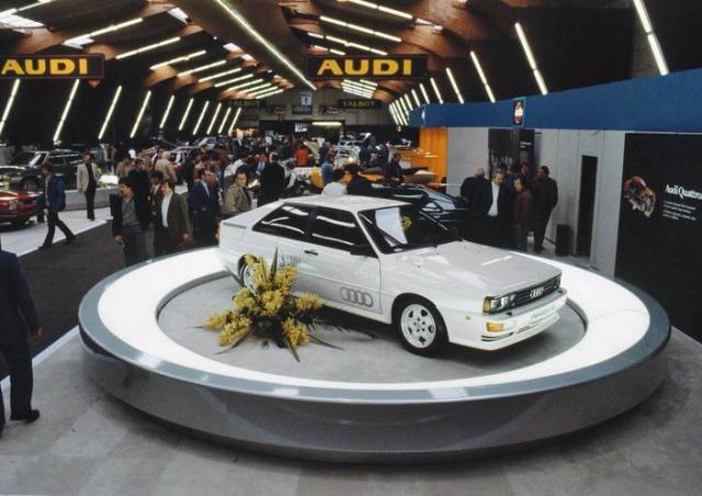 1980 Audi Quattro   Audi