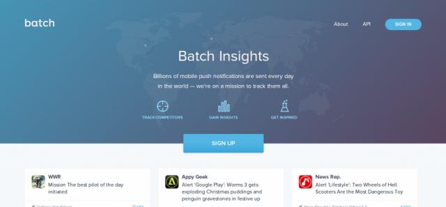 Batch Insights