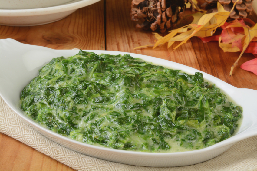 Creamed Spinach