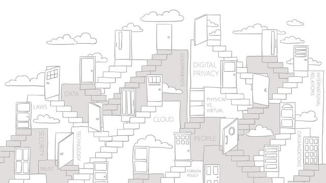 Microsoft digital privacy doodle
