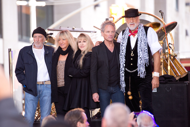John McVie, Christine McVie, Stevie Nicks, Lindsey Buckingham and Mick Fleetwood of Fleetwood Mac