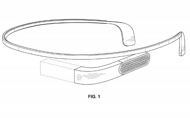 Google Glass patent reveals slimmer design