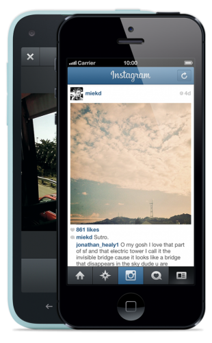 How to use Instagram app