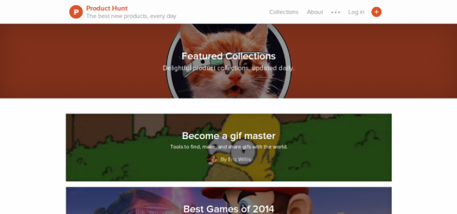 Product Hunt Collections