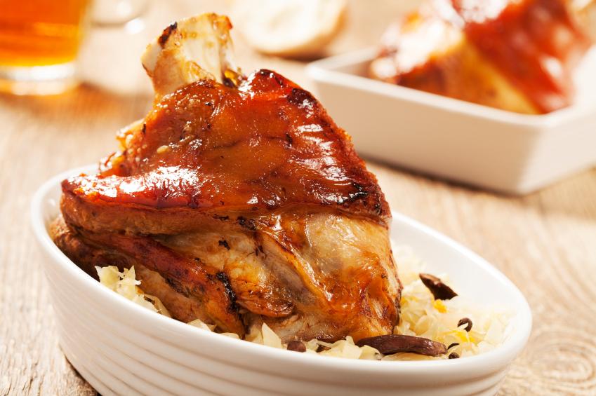 Roast-pork-knuckle